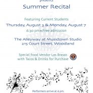 Summer Recitals 2017
