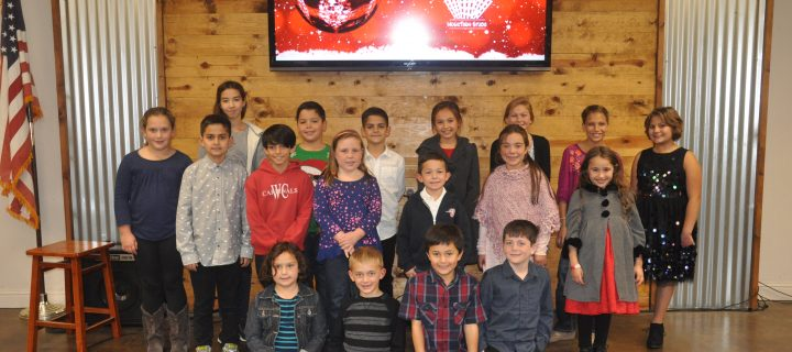 Woodland Christian Winter Recital 2017