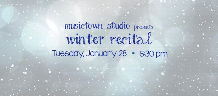Musictown Winter Recital